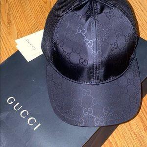 GUCCI GG Nylon Canvas Baseball Hat